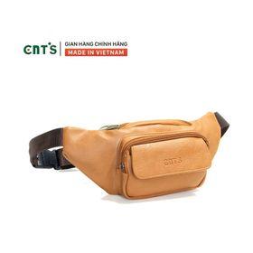 Túi bao tử CNT unisex TĐX55 đeo được 2 kiểu năng động BÒ LỢT giá sỉ