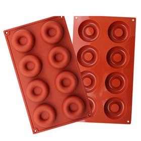 Khuôn silicon 8 hình bánh Donut – Mã số 272 giá sỉ