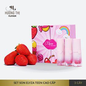 Set 3 thỏi son kem Elyza Liquid Lipstick - Hương Thị giá sỉ