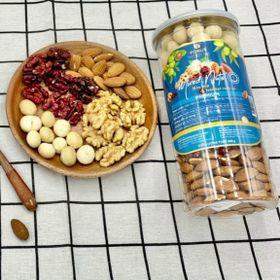 Hạt Mix Mixed Nut 4 loại tách vỏ (óc chó vàng, óc chó đỏ, macca, hạnh nhân) giá sỉ