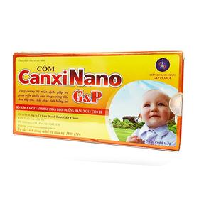 Cốm Canxi Nano G&P (5 túi x 3g) - Date mới - Chiết khấu cao giá sỉ