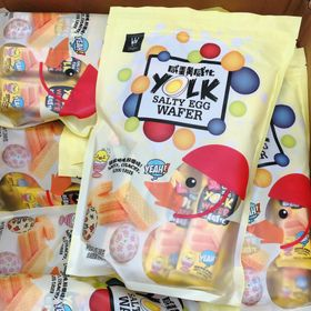 Bánh Wafle trứng muối Đài loan giá sỉ