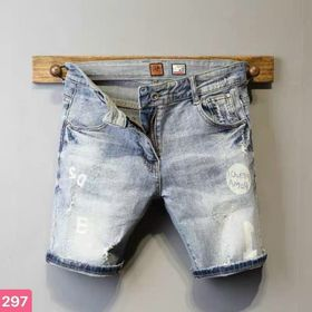 Quần short jean nam cotton co giãn cao cấp giá sỉ