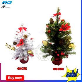 Cây Thông Mini 40cm Để Bàn Trang Trí Noel Kèm Phụ Kiện giá sỉ