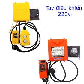 Tay điều khiển từ xa 220v loại thường và loại tốt giá sỉ