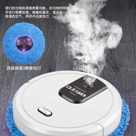 Robot thông minh lau nhà phun sương tự động công nghệ mới 2021 giá sỉ