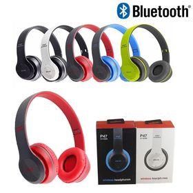 Tai Nghe Bluetooth P47 Chụp Tai có khe cắm thẻ nhớ giá sỉ