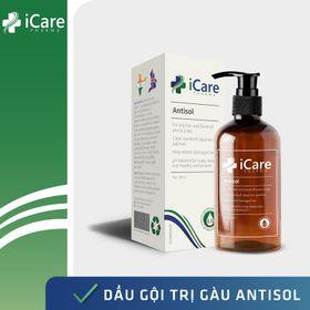 Dầu gội trị gàu Antisol - Trị gàu ngứa da đầu, da dầu nhờn, không cần dầu xả - Chai 240ml giá sỉ