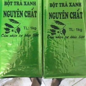Bột trà xanh nguyên chất theo kí giá sỉ