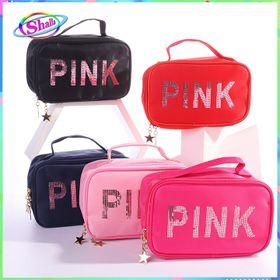 Túi Mỹ Phẩm - túi tiện ích Màu Pink Shalla giá sỉ