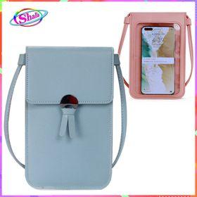 ví cầm tay đeo chéo đựng điện thoại 2 mặt có cảm ứng Shalla (sỉ túi điện thoại giá rẻ) giá sỉ