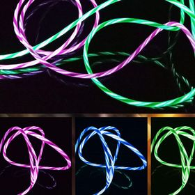 Cáp sạc điện thoại Iphone - Ios có đèn led phát sáng giá sỉ