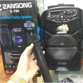 Loa kéo karaoke Zansong S190 TO - tặng kèm mic Không dây giá sỉ