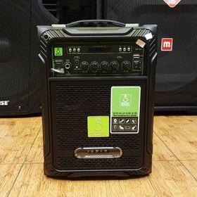 Loa kéo karaoke Sok 501 - tặng kèm 2 mic Không dây giá sỉ