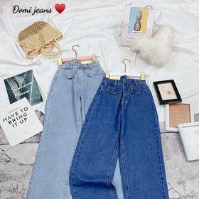 Quần baggy jean nữ ống rộng Ms3145 kho chuyên sỉ jean 2KJean giá sỉ