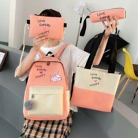 Bộ 4 món balo túi xách balo bộ 125k giá sỉ