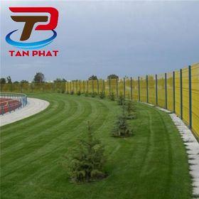 Hàng rào lưới thép sân bóng, hàng rào mạ kẽm, hàng rào giá sỉ