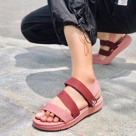 Giày sandal nữ đi học, dép quai hậu nữ - Datshoes HA08