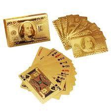 Bộ bài mạ vàng full hộp sẵn hàng giá sỉ