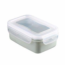 Hộp nhựa chữ nhật cao cấp đựng thực phẩm có nắp (8x14cm) giá sỉ
