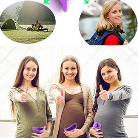 Dụng cụ hỗ trợ tiểu đứng cho phụ nữ ( phụ nữ có thai)- Phụ kiện cần thiết khi đi đường dài, du lịch giá sỉ