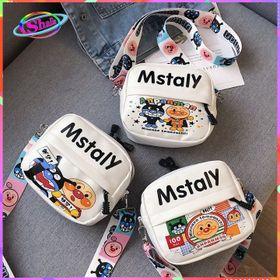 Túi đeo chéo Hoạt Hình Vui Nhộn Mstaly ngẫu nhiên Shalla ( đeo chéo giá rẻ ) giá sỉ