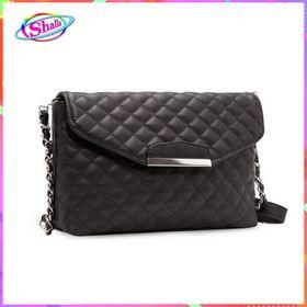 Túi xách nữ cầm tay đeo chéo clutch lưới đen CD3 Shalla giá sỉ