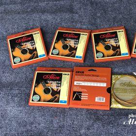 Bán sỉ dây guitar acoustic Alice AW436 giá sỉ