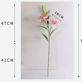 Hoa Ly Lụa Vải Cao Cấp giá sỉ