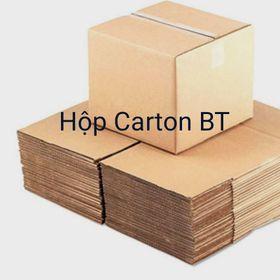hộp carton đóng hàng size 15x8x8 màu nâu 50 hộp