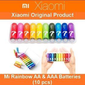 Pin tiểu AA/AAAXiaomi Rainbow giá sỉ