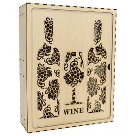 Hộp lưu cất rượu vang J03 hộp rượu quà trang trí tết giá sỉ