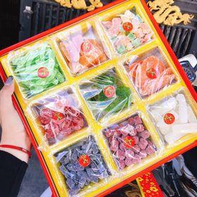 Set mứt 9 loại hương vị tết giá sỉ