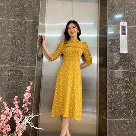 Đầm váy hoa giá sỉ