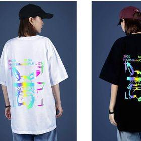 Áo thun phản quang 7 màu in hoạt hình giá sỉ
