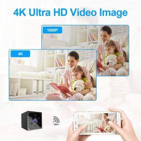 Camera mini 4K không dây HD WIFI NANNY CAMSPY KHÔNG DÂY MINI MÁY ẢNH giá sỉ