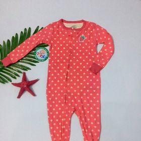 BodySuit dáng dài thiết kế liền vớ và không vớ nhiều họa tiết đáng yêu cho bé BS019 giá sỉ