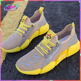Giày Sneake Nam thể thao đế Đúc phối Vàng cao cấp mẫu mới DDV01 Shalla ( giá rẻ ) giá sỉ