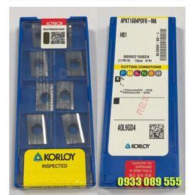 Hộp 10 mảnh chíp tiện KorLoy CCGT09T304-AK-H01 giá sỉ