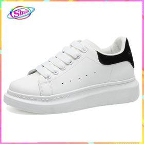 Giày slipon nam nữ gót đen sinh viên Alex-MC tăng chiều cao Shalla ( giày sllipon giá rẻ ) giá sỉ