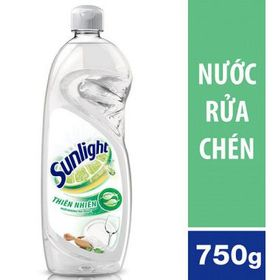 Nước rửa chén Sunlight thiên nhiên can chai 750ml x 15 chai giá sỉ