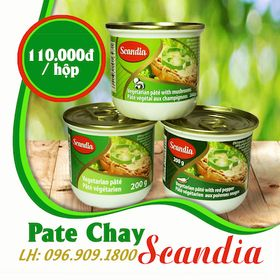 Pate chay Scandia Canada hộp 200gr giá sỉ