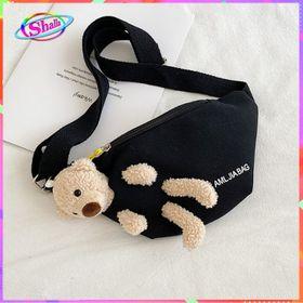 Túi đeo chéo Gấu giấu trong kiểu ngang mẫu ưa chuộng Shalla ( Túi đeo chéo giá rẻ ) giá sỉ