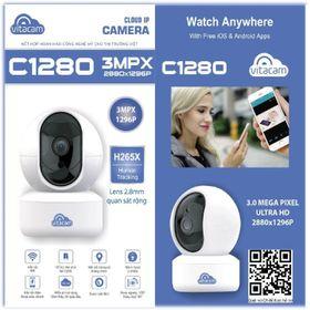 Camera Vitacam C1280 3.0Mpx Ultra HD Xoay 360 Độ giá sỉ