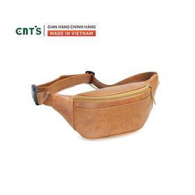 Túi đeo bụng,đeo chéo CNT unisex TĐX56 cá tính BÒ ĐẬM giá sỉ