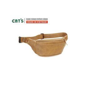 Túi đeo bụng,đeo chéo CNT unisex TĐX56 cá tính BÒ NHẠT giá sỉ