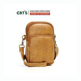 Túi đeo chéo đựng điện thoại nữ CNT TĐX59 xinh xắn bò nhạt giá sỉ