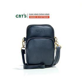 Túi đeo chéo đựng điện thoại nữ CNT TĐX59 xinh xắn đen giá sỉ