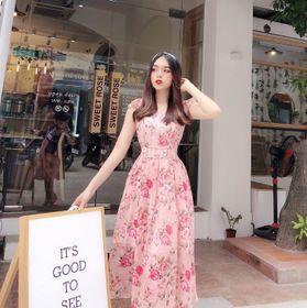 Đầm hoa cánh tiên giá sỉ