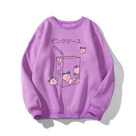 Áo sweater in hình hộp sữa + ly trà sữa chất PE đẹp giá sỉ